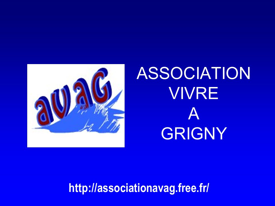 ASSOCIATION VIVRE A GRIGNY