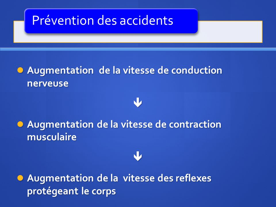 Prévention des accidents
