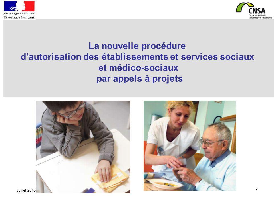 d'autorisation des établissements et services sociaux