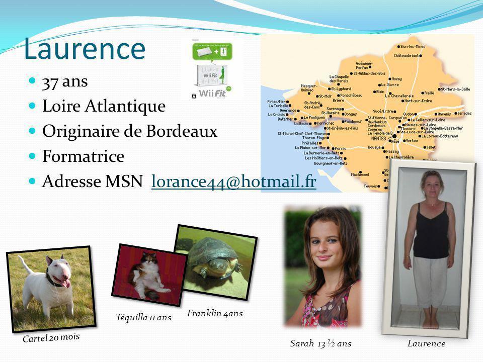 Laurence 37 ans Loire Atlantique Originaire de Bordeaux Formatrice