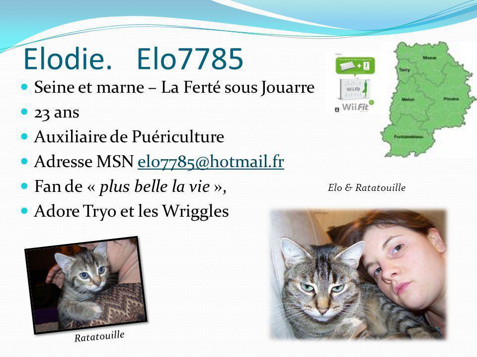 Elodie. Elo7785 Seine et marne – La Ferté sous Jouarre 23 ans