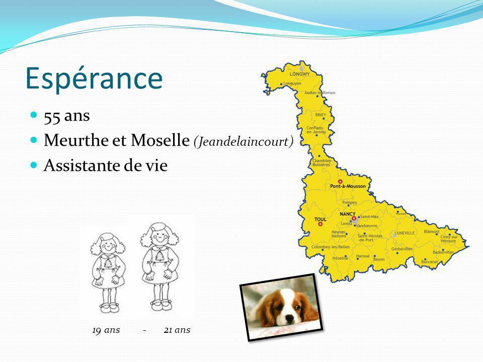Espérance 55 ans Meurthe et Moselle (Jeandelaincourt)