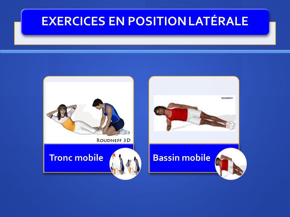 EXERCICES EN POSITION LATÉRALE
