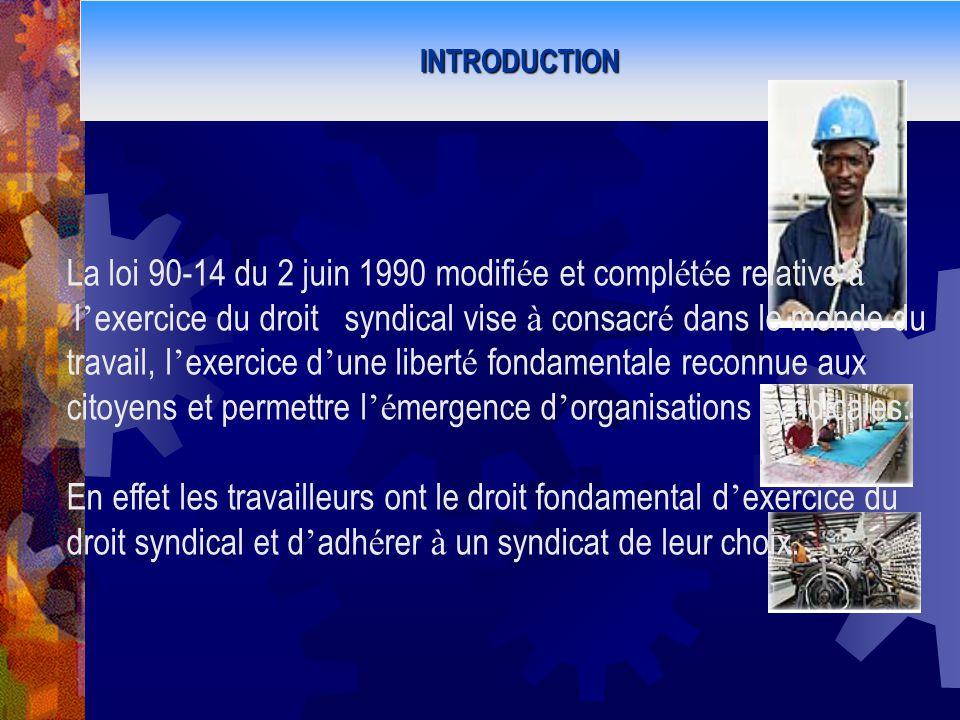 La loi 90-14 du 2 juin 1990 modifiée et complétée relative à
