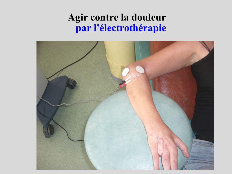 Agir contre la douleur par l électrothérapie