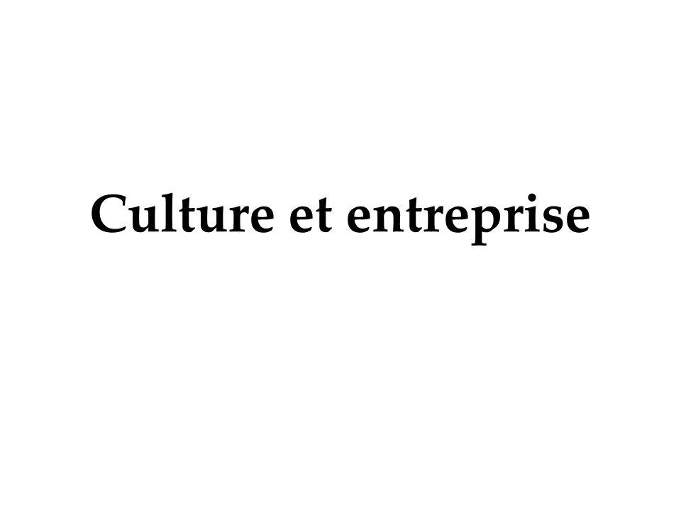 Culture et entreprise