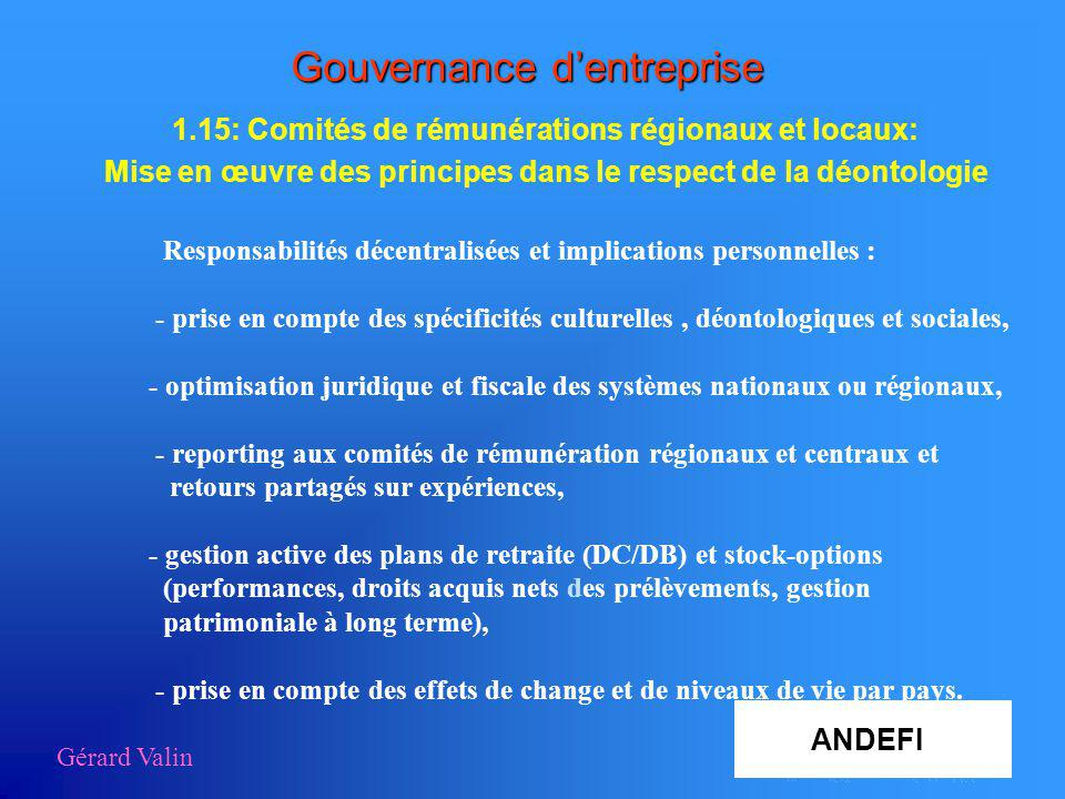 Gouvernance d entreprise ppt t l charger for Dujardin hec