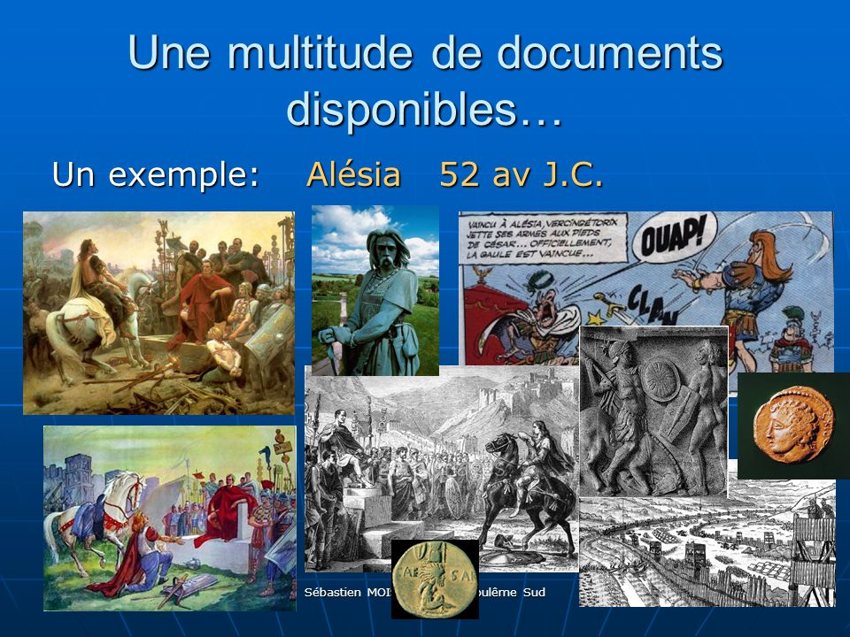 Une multitude de documents disponibles…