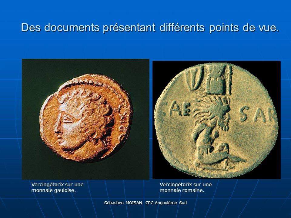 Des documents présentant différents points de vue.