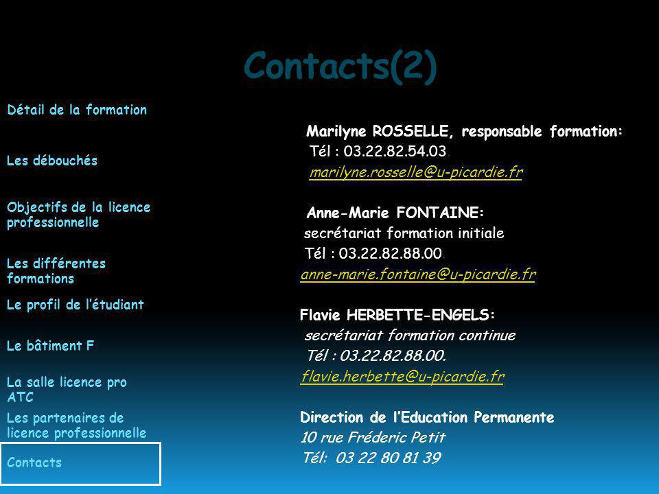 Contacts(2)