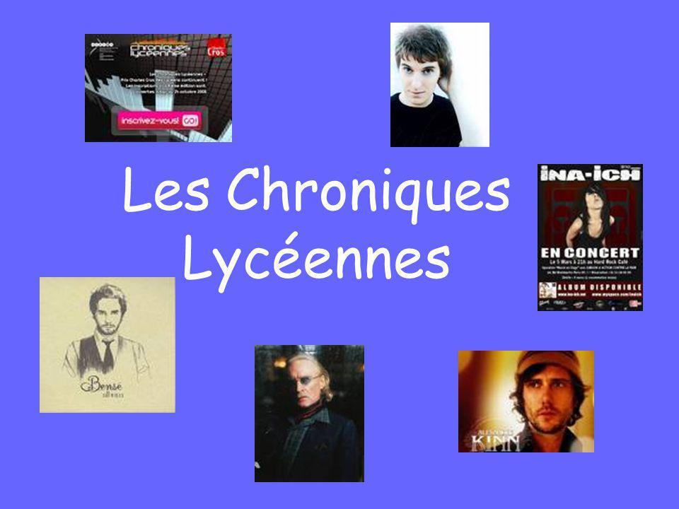 Les Chroniques Lycéennes