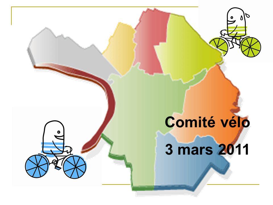 Comité vélo 3 mars 2011