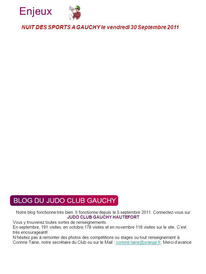 Enjeux Indicateur BLOG DU JUDO CLUB GAUCHY