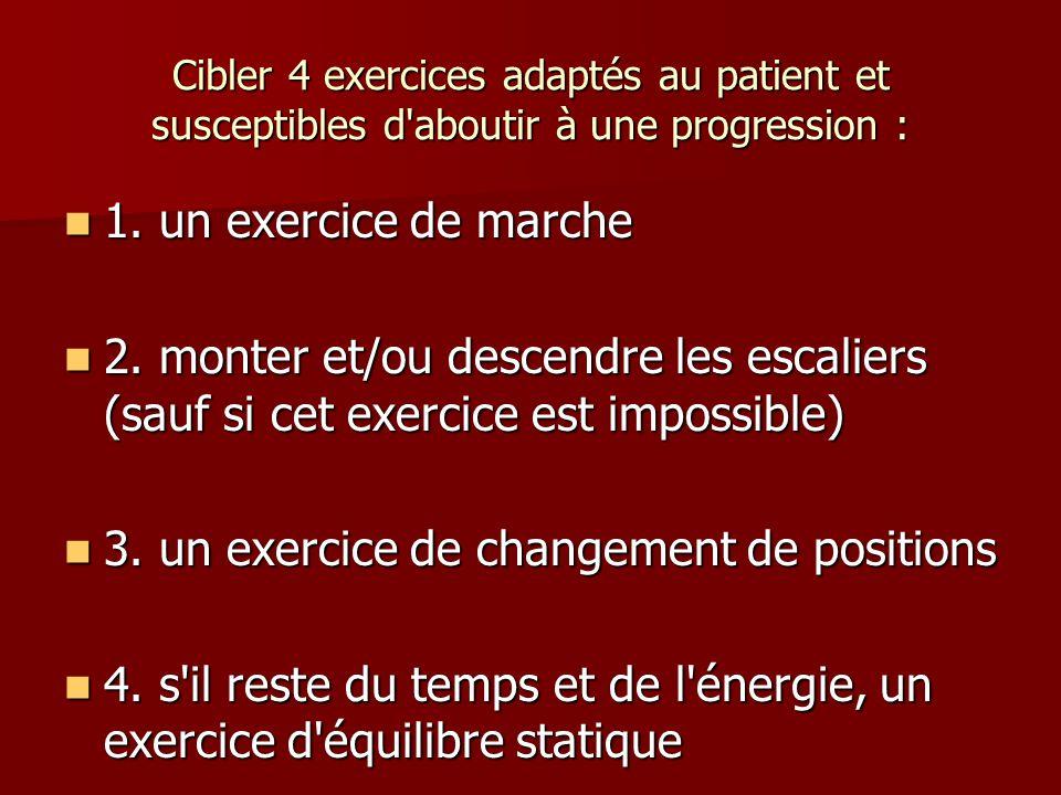 3. un exercice de changement de positions