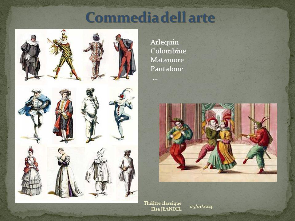 Commedia dell arte Arlequin Colombine Matamore Pantalone …