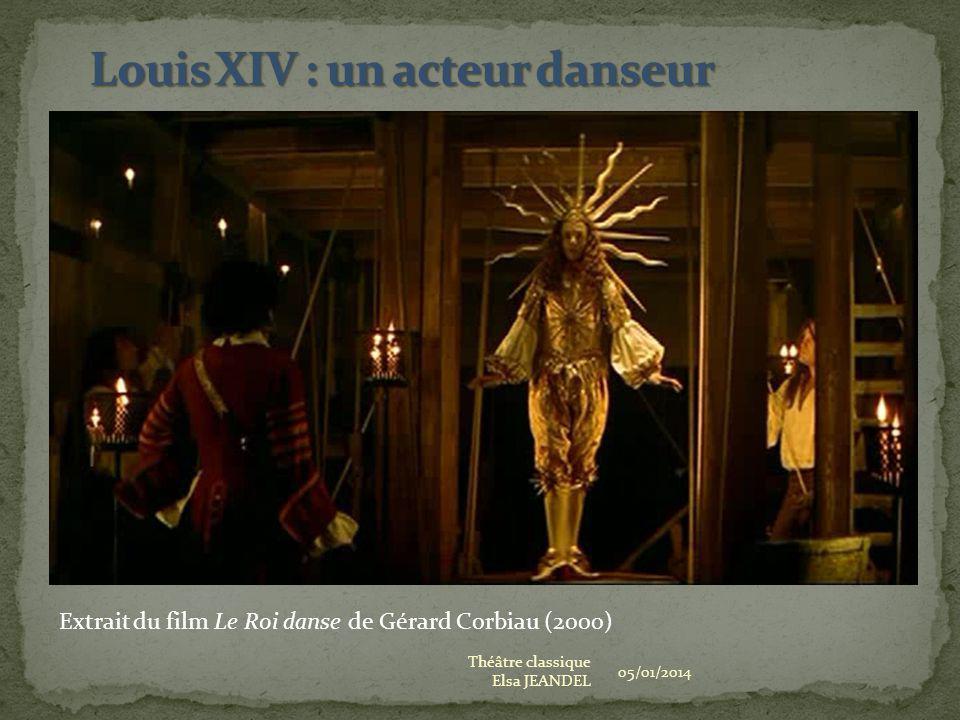 Louis XIV : un acteur danseur
