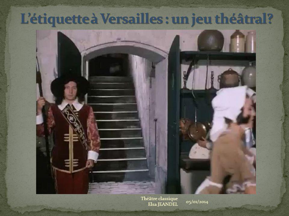 L'étiquette à Versailles : un jeu théâtral