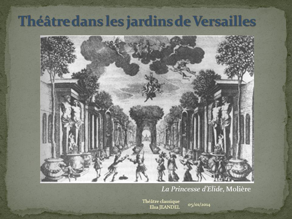 Théâtre dans les jardins de Versailles
