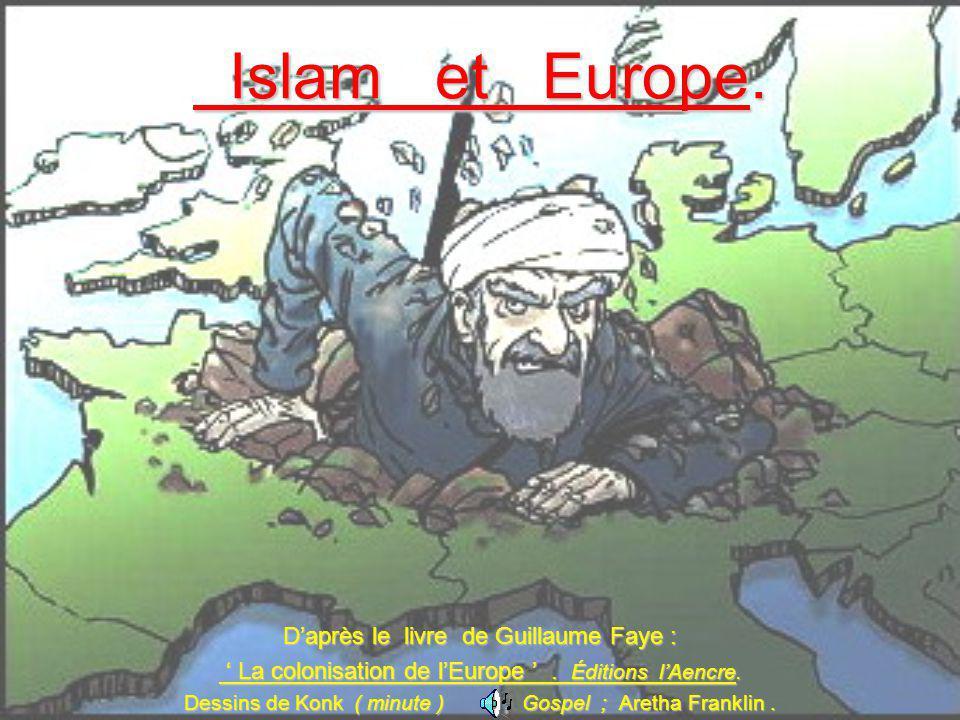 Islam et Europe. D'après le livre de Guillaume Faye :