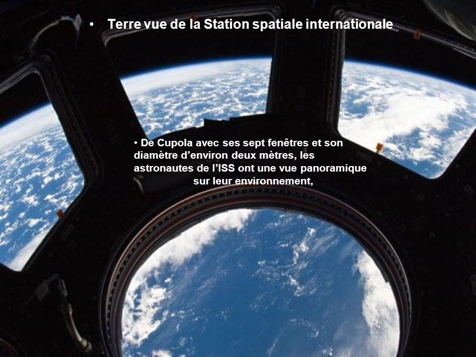 Terre vue de la Station spatiale internationale