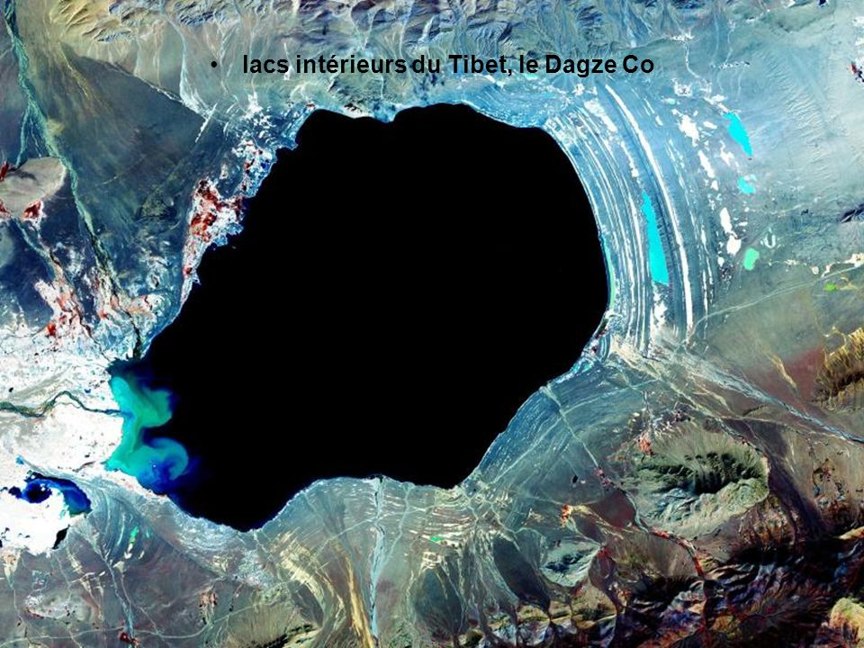 lacs intérieurs du Tibet, le Dagze Co