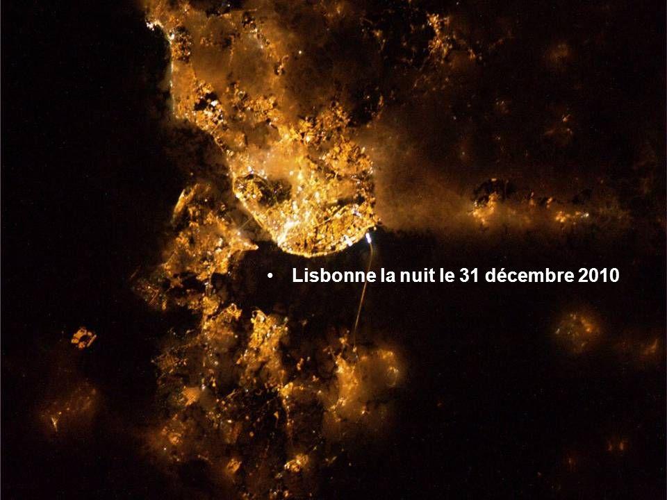 Lisbonne la nuit le 31 décembre 2010