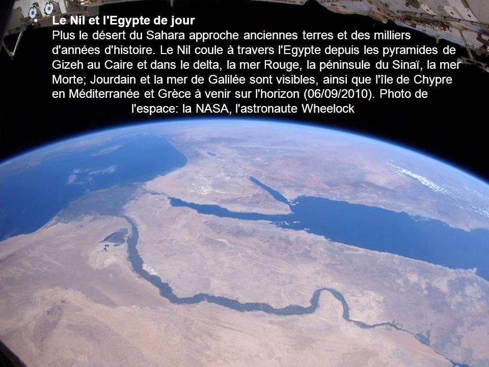 Le Nil et l Egypte de jour Plus le désert du Sahara approche anciennes terres et des milliers d années d histoire.