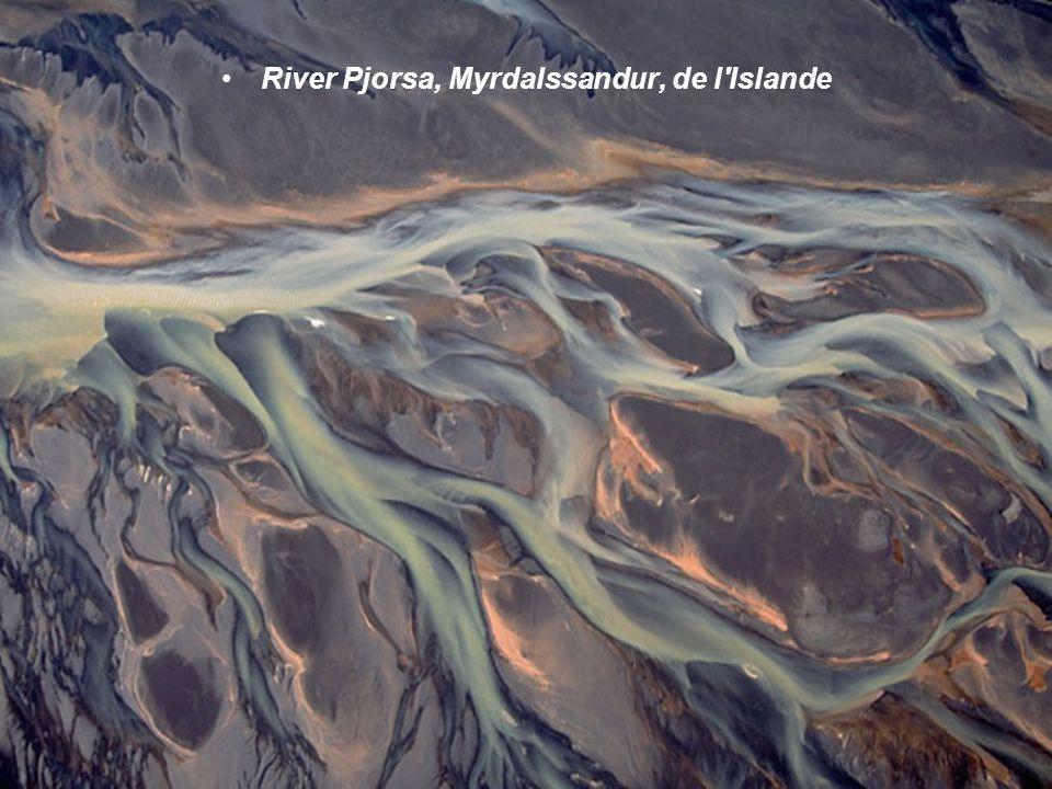 River Pjorsa, Myrdalssandur, de l Islande