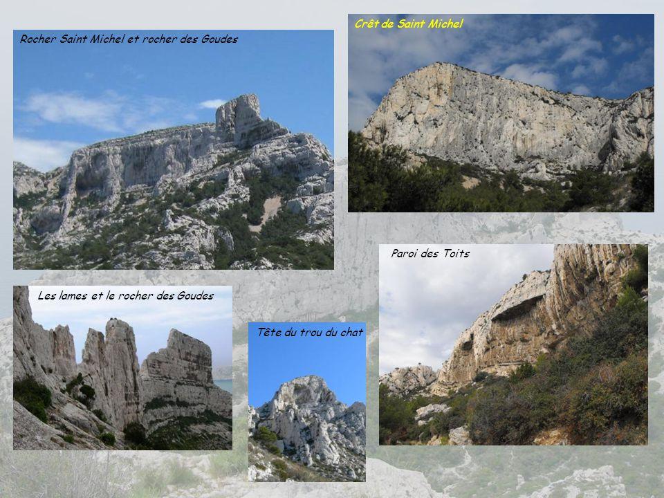 Les lames et le rocher des Goudes