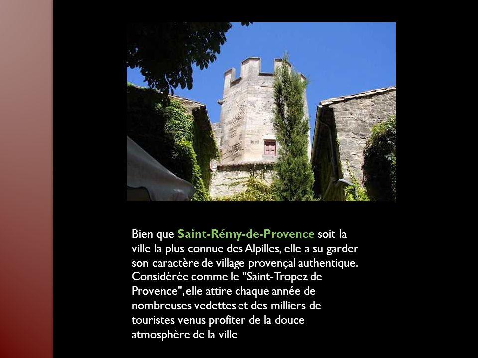 Bien que Saint-Rémy-de-Provence soit la ville la plus connue des Alpilles, elle a su garder son caractère de village provençal authentique.