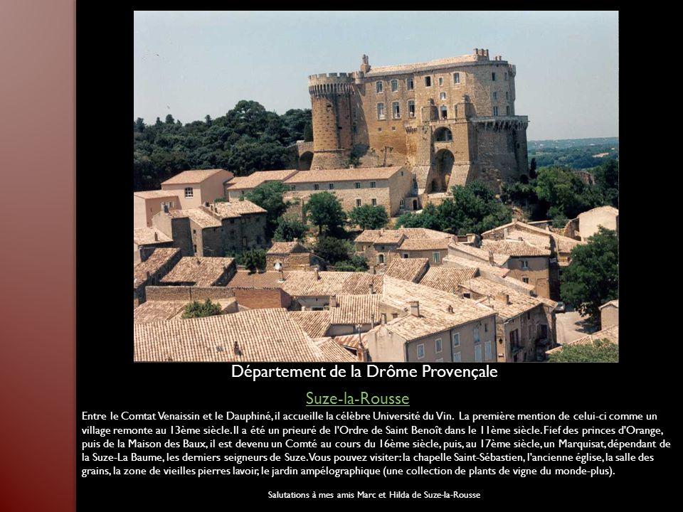 Département de la Drôme Provençale