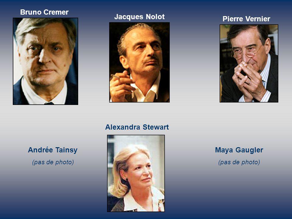 Bruno Cremer Jacques Nolot Pierre Vernier Alexandra Stewart