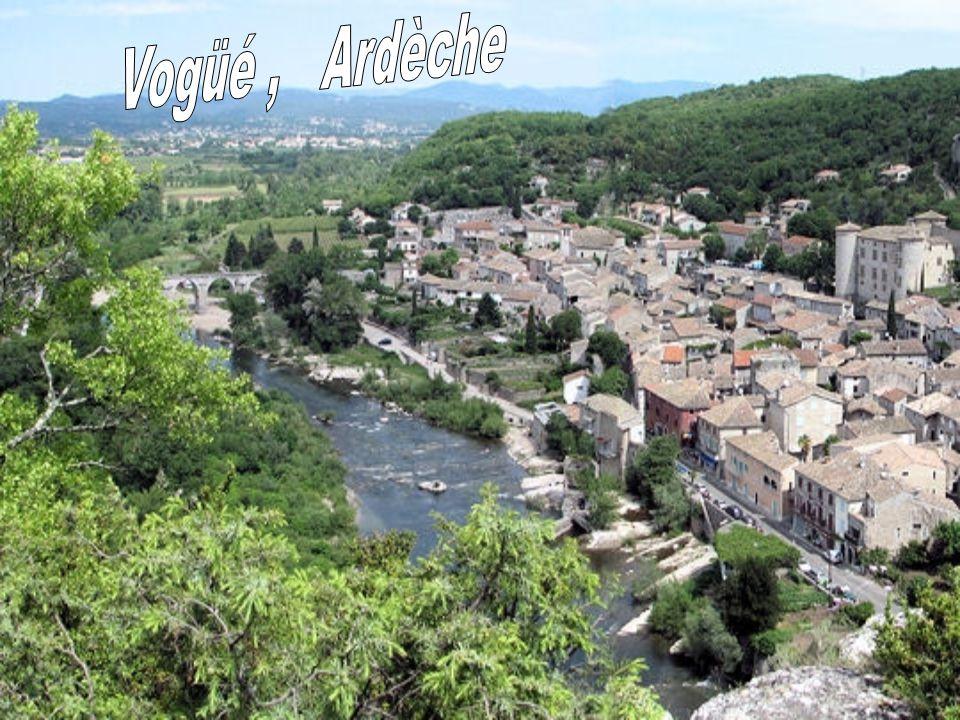 Vogüé , Ardèche