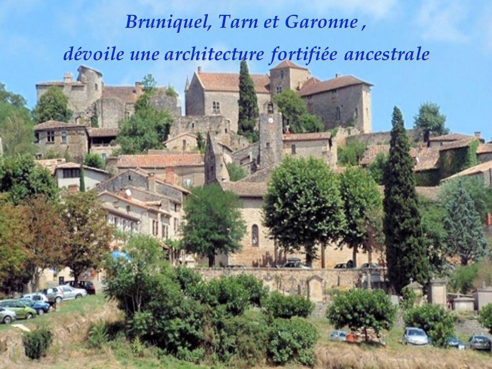 Bruniquel, Tarn et Garonne , dévoile une architecture fortifiée ancestrale