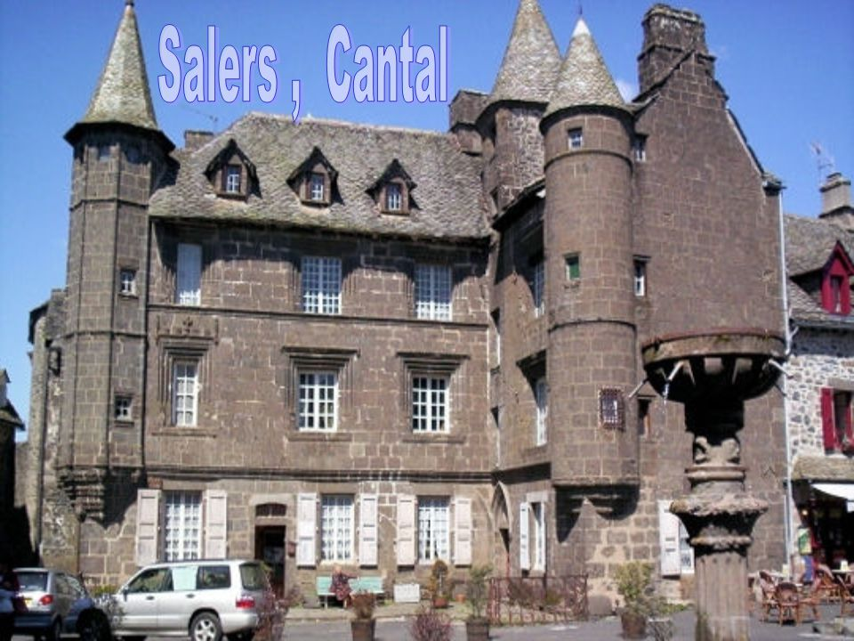 Salers , Cantal