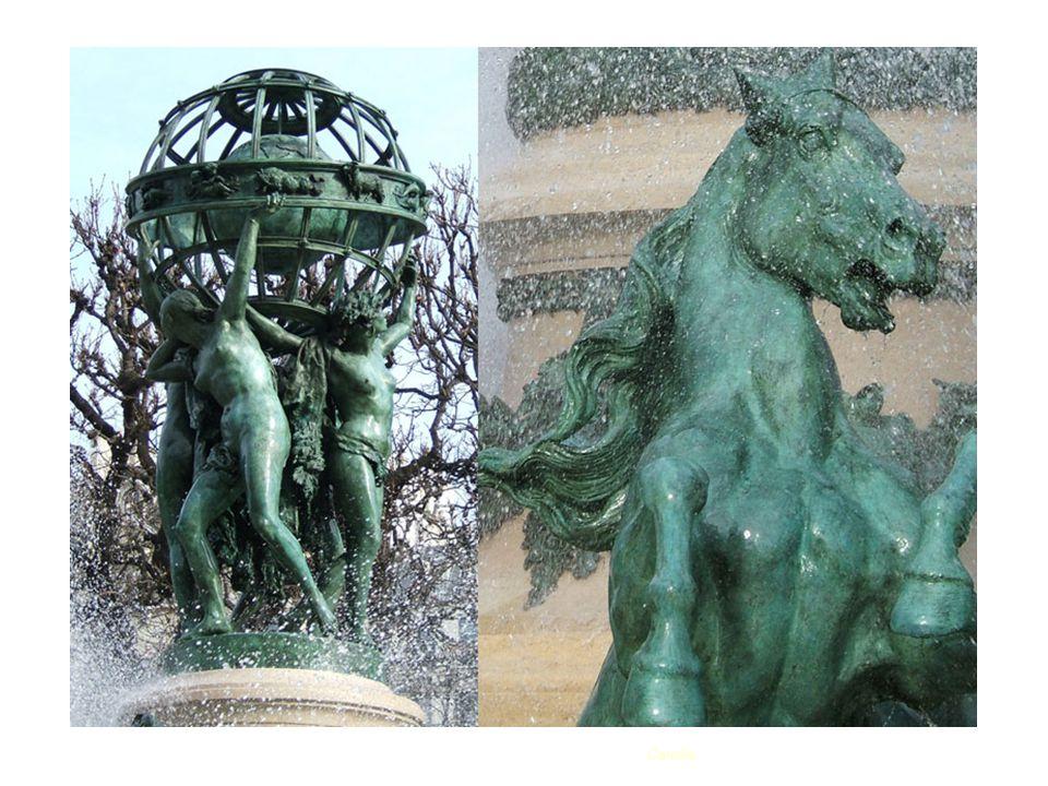 Fontaine des Quatre parties du Monde ou fontaine de l'observatoire ou encore fontaine Carpeau