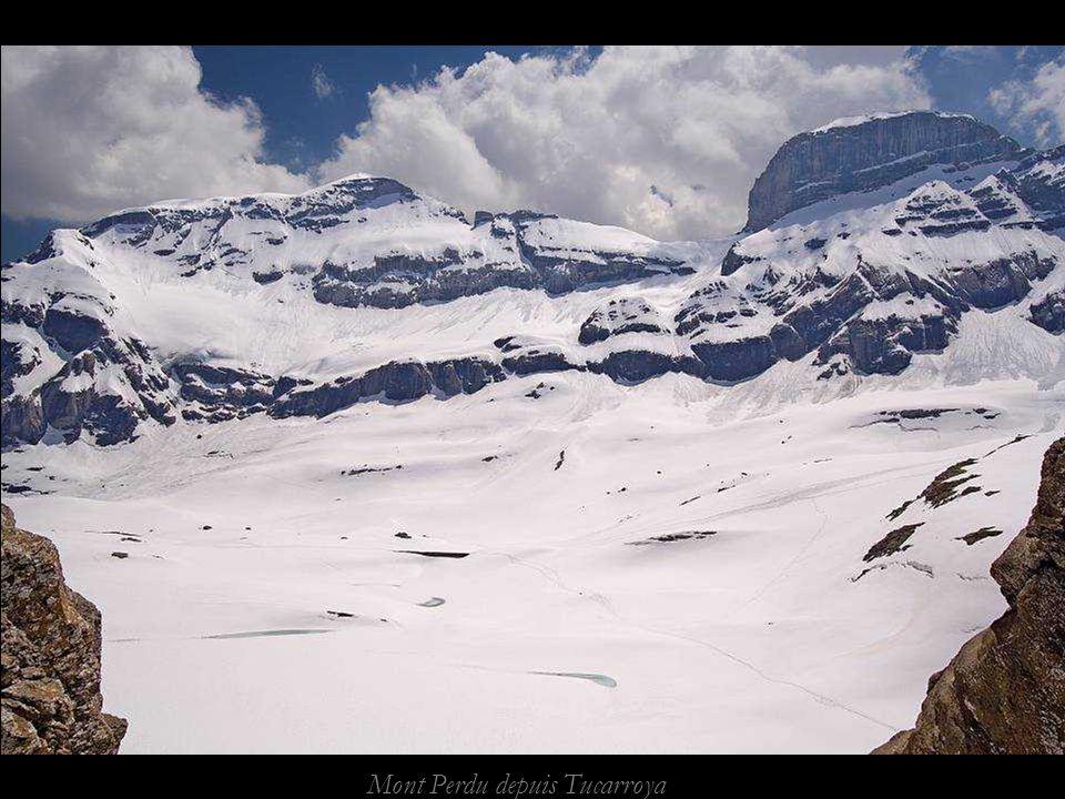 Mont Perdu depuis Tucarroya