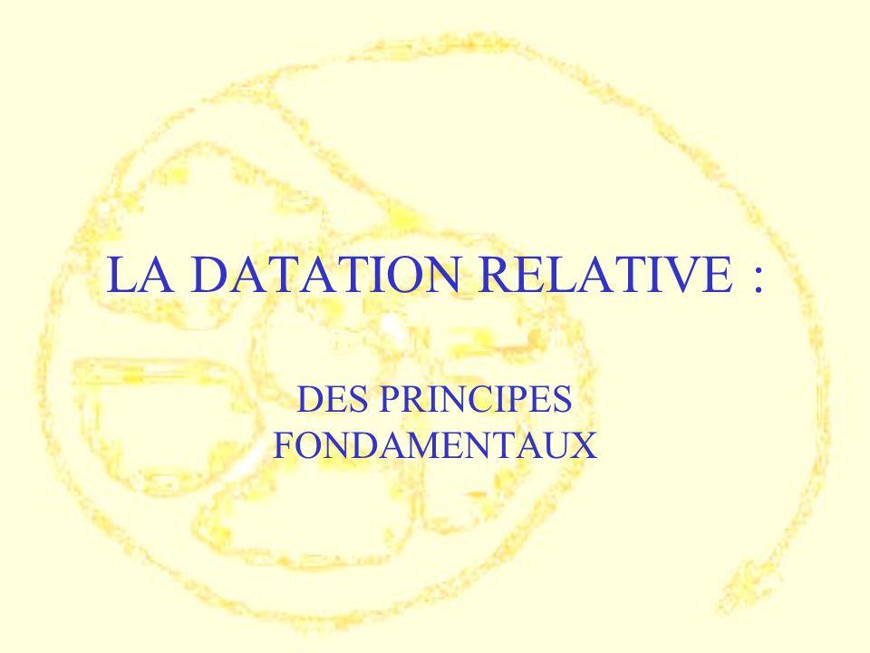 DES PRINCIPES FONDAMENTAUX