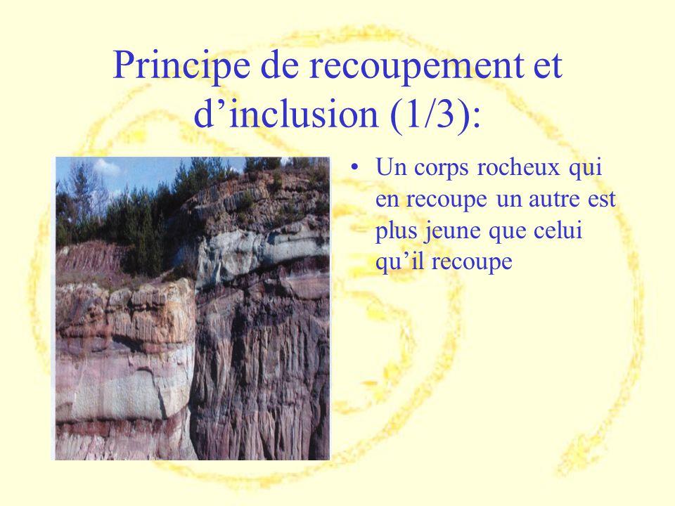 Principe de recoupement et d'inclusion (1/3):