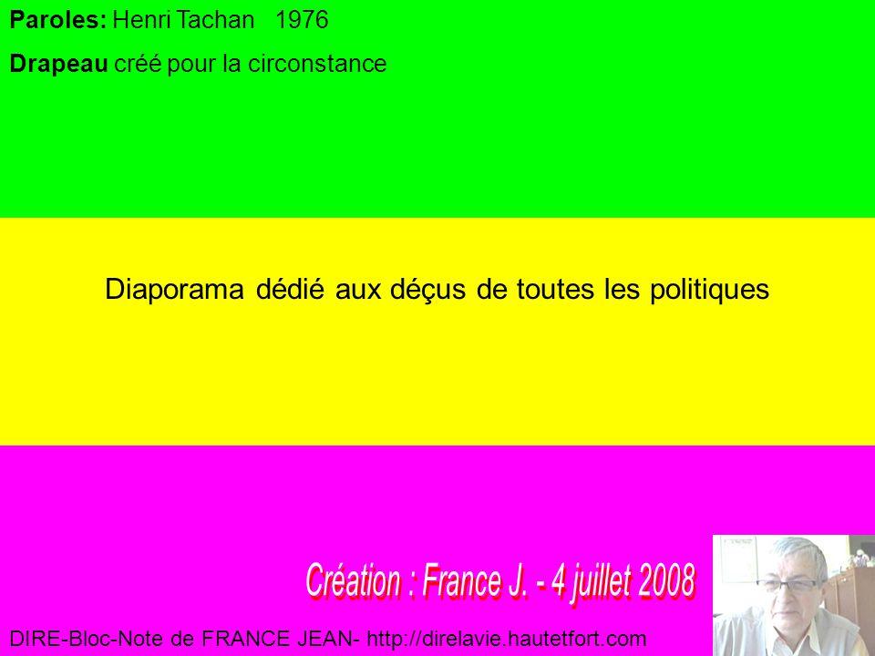 Création : France J. - 4 juillet 2008