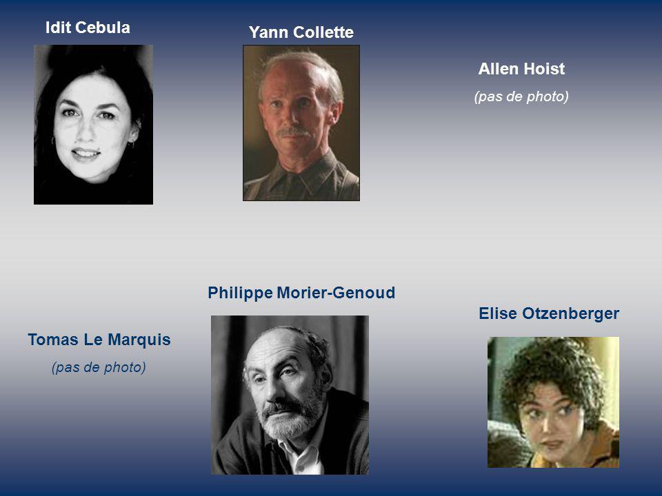 Philippe Morier-Genoud Elise Otzenberger