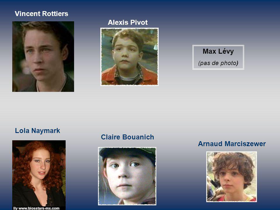 Alexis Pivot Max Lévy Lola Naymark