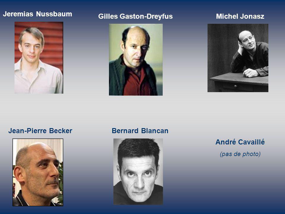 Gilles Gaston-Dreyfus Michel Jonasz