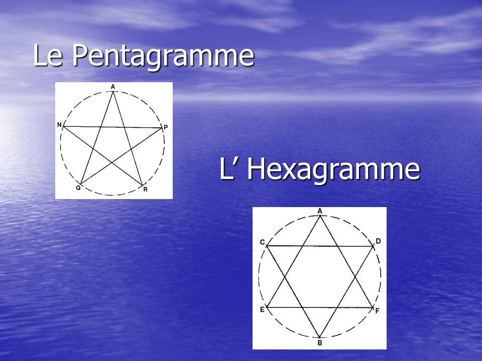Le Pentagramme L' Hexagramme
