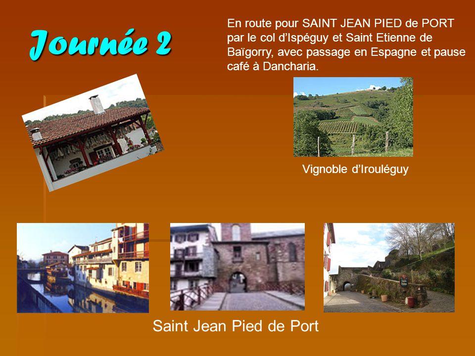 Journée 2 Saint Jean Pied de Port