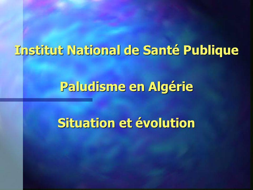Institut National de Santé Publique Situation et évolution