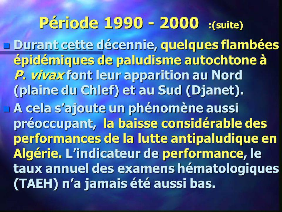 Période 1990 - 2000 :(suite)