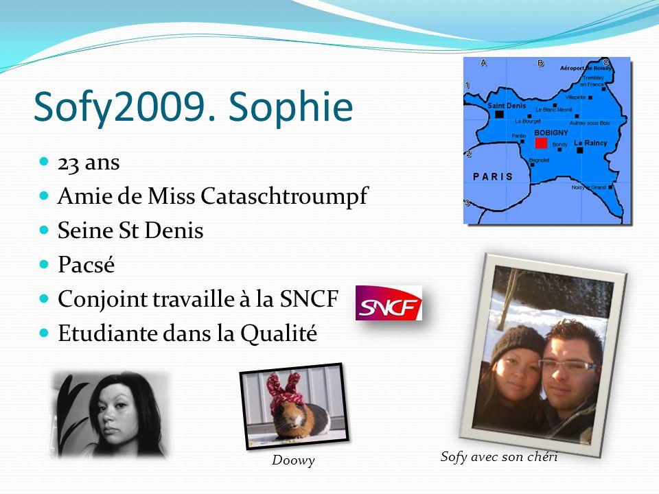 Sofy2009. Sophie 23 ans Amie de Miss Cataschtroumpf Seine St Denis