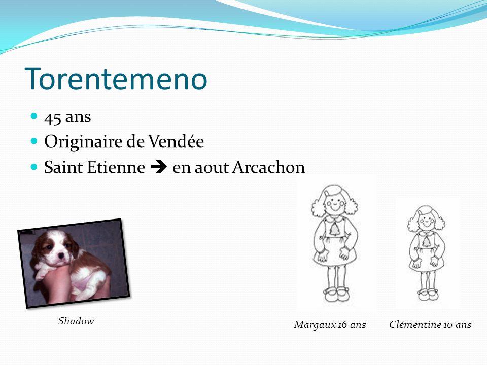 Torentemeno 45 ans Originaire de Vendée