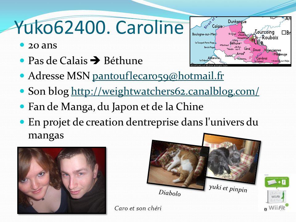 Yuko62400. Caroline 20 ans Pas de Calais  Béthune